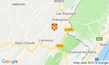 Kaart Les Rousses Chalet 89314