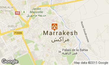 Kaart Marrakech Bed & breakfast 45751