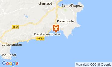 Kaart Saint Tropez Appartement 104632