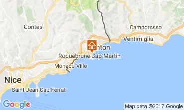 Kaart Roquebrune Cap Martin Appartement 110242
