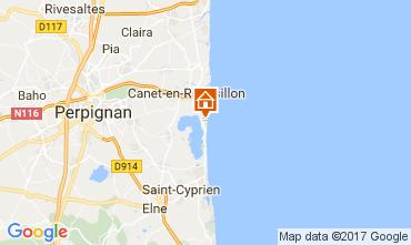 Kaart Canet-en-Roussillon Appartement 112805