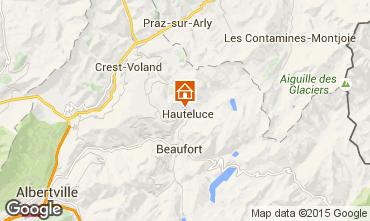 Kaart Hauteluce Chalet 68480