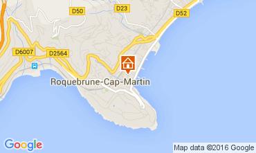 Kaart Roquebrune Cap Martin Appartement 104967