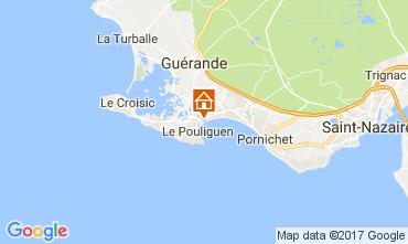 Kaart La Baule Appartement 107669