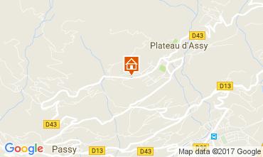 Kaart Passy Appartement 99064