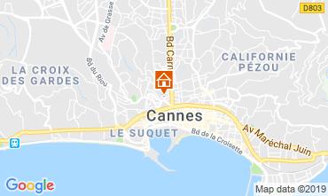 Kaart Cannes Appartement 40957