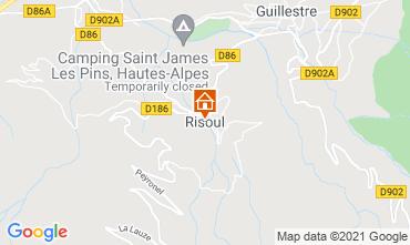 Kaart Risoul 1850 Appartement 75018