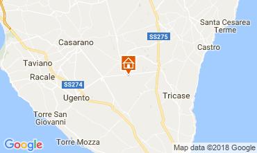 Kaart Specchia Villa 113782