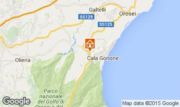 Kaart Cala Gonone Appartement 29191