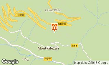 Kaart La Rosière 1850 Appartement 82857