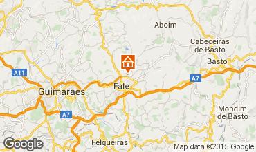 Kaart Guimarães Vakantiehuis 50906