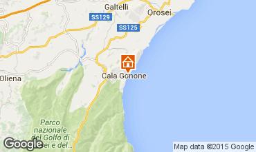 Kaart Cala Gonone Appartement 96091