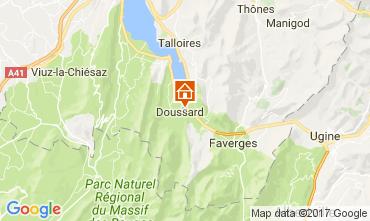 Kaart Annecy Villa 109949