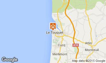 Kaart Le Touquet Studio 38630