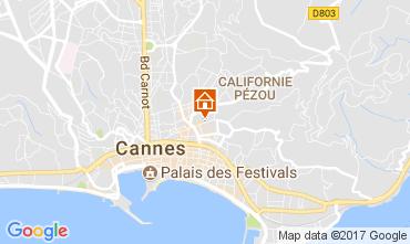 Kaart Cannes Appartement 78247