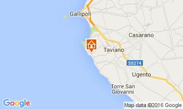 Kaart Gallipoli Villa 82008