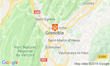 Kaart Grenoble Appartement 120029