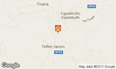 Kaart Castelrotto - Kastelruth Appartement 49857