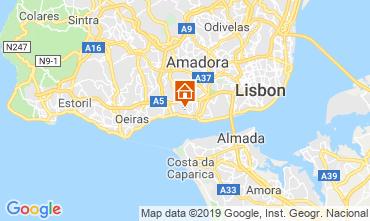 Kaart Lissabon Appartement 86633