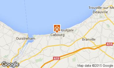 Kaart Cabourg Huis 98078