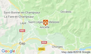 Kaart Ancelle Chalet 116834