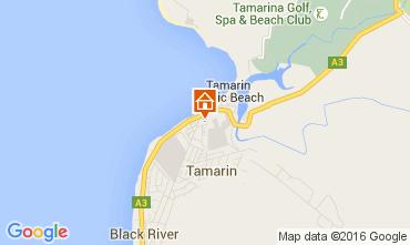 Kaart Tamarin Villa 105203