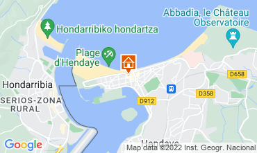 Kaart Hendaye Appartement 9350