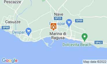 Kaart Marina di Ragusa Appartement 92176