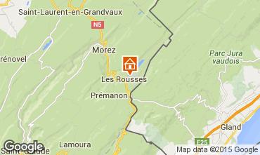 Kaart Les Rousses Appartement 58502