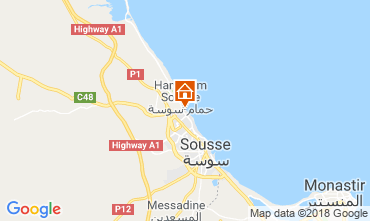 Kaart Sousse Appartement 117128