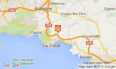 Kaart La Ciotat Villa 85839