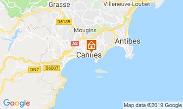 Kaart Cannes Appartement 119042