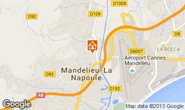 Kaart Mandelieu la Napoule Appartement 83977