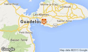 Kaart Gosier (Guadeloupe) Studio 101387