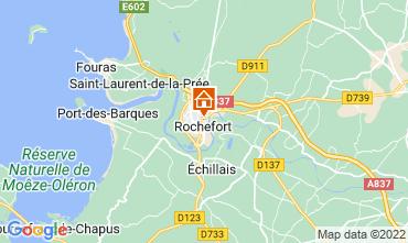 Kaart Rochefort sur Mer Studio 113406