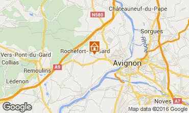 Kaart Villeneuve lez Avignon Villa 103227