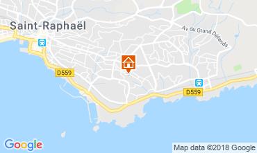 Kaart Saint Raphael Villa 116765