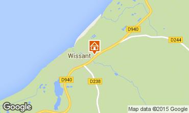 Kaart Wissant Vakantiehuis 32131