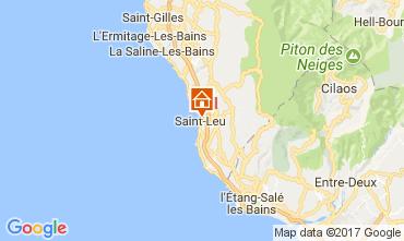 Kaart Saint Leu Vakantiehuis 112251