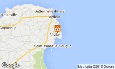 Kaart Saint Vaast la Hougue Vakantiehuis 70956