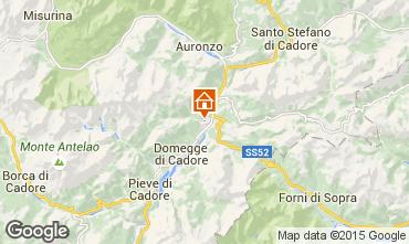 Kaart Auronzo di Cadore Appartement 85967