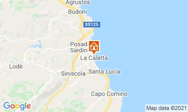 Kaart La Caletta Appartement 109175