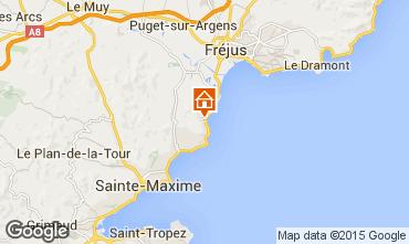 Kaart Les Issambres Appartement 30141