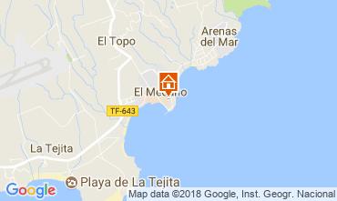 Kaart El Medano Appartement 114545