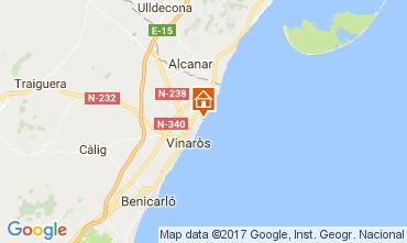 Kaart Vinaròs Villa 97392