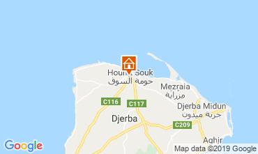 Kaart Djerba Appartement 53348