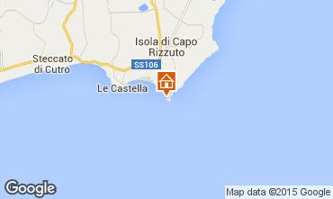 Kaart Isola di Capo Rizzuto Appartement 63782