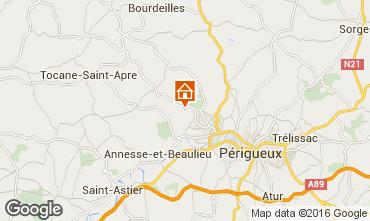 Kaart Périgueux Vakantiehuis 54756