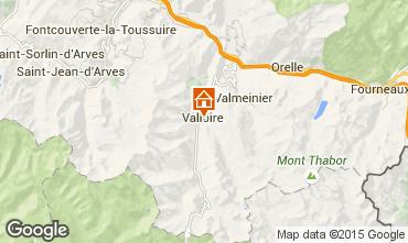 Kaart Valloire Chalet 100651