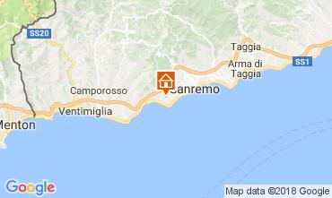 Kaart Sanremo Villa 110839